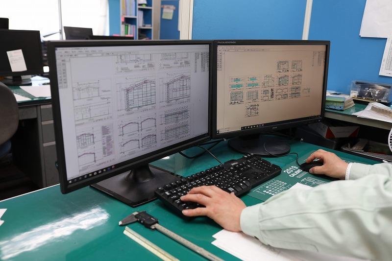 加工図面や施工図面の作成